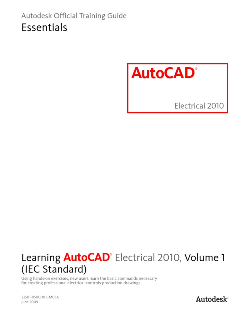 learning autocad electrical 2010 iec volume 1 slipstream rh scribd com Autodesk Electrical 2013 Autodesk Electrical Symbols For